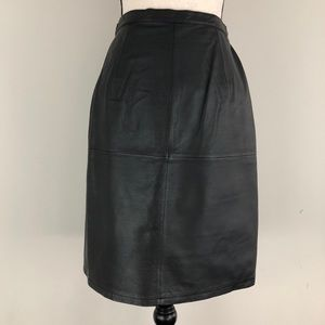f03830a3992 Shape Fx Newport News Leather Pencil Skirt